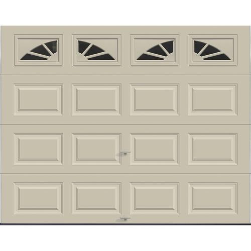 Ideal Door Traditional Desert Tan Insulated Garage Door With