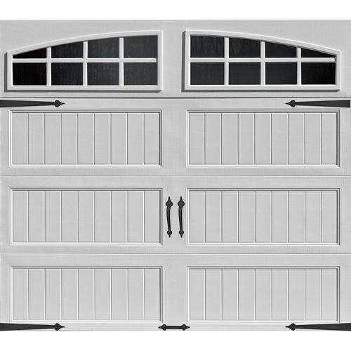 Ideal Door 174 Designer White Insulated Garage Door With