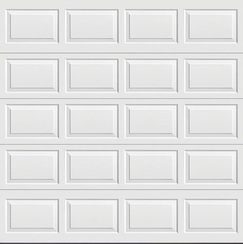 Ideal Door Traditional White Insulated Garage Door At Menards