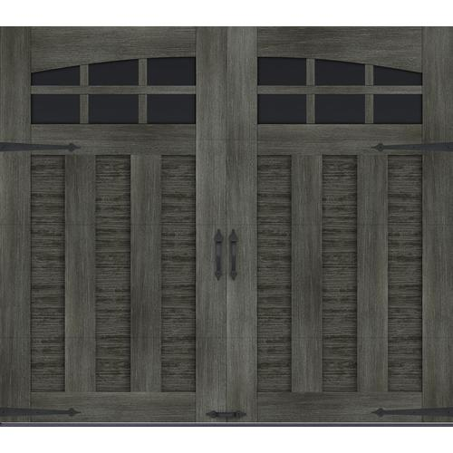 Ideal Door® Premium Slate Finish Insulated Garage Door with