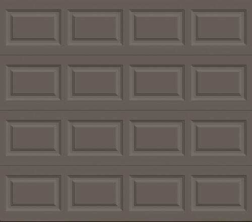 Ideal Door Traditional Bronze Insulated Garage Door Garage Door At Menards