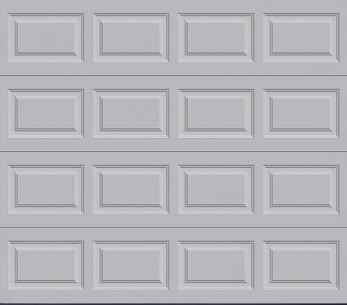 Ideal Door Traditional Gray Insulated Garage Door At Menards