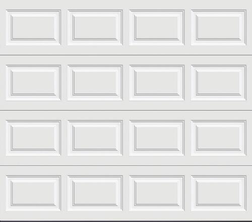 Ideal Door Traditional White Insulated W1 Windcode Garage Doors At Menards