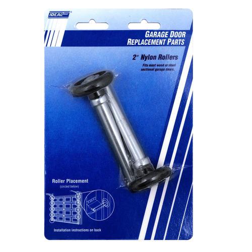 ideal door 2 replacement nylon rollers for overhead garage doors at menards - How To Replace Garage Door Rollers