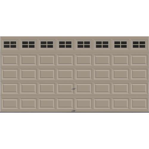 Ideal Door 174 Traditional Sandtone Insulated Garage Door