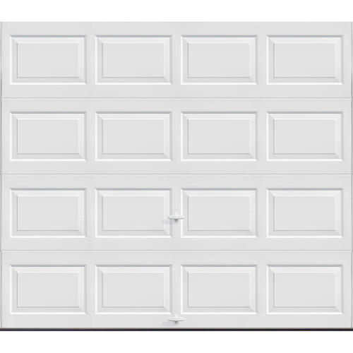 Ideal Door® Traditional White Steel Panel Garage Door At Menards®