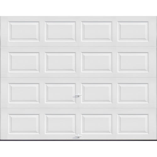 Ideal Door Traditional White 9 X 7 Steel Panel Good Construction Noninsulated Garage Door Garage Doors Garage Door Insulation Garage Door Panels