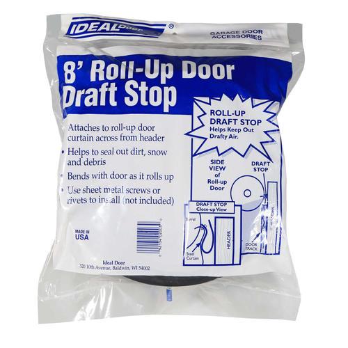 Ideal Door® 8u0027 Perimeter Draft Stop Weatherstrip For Roll Up Doors At  Menards®