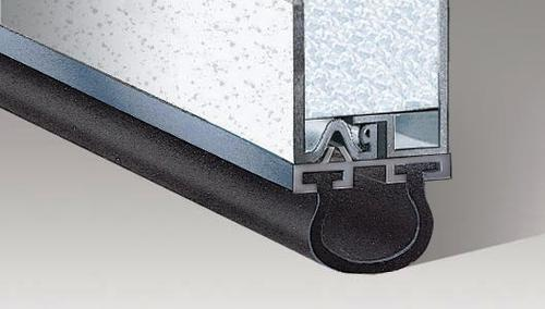 Garage Door Gasket >> Ideal Door Replacement Bottom Weatherstrip For Steel Garage Doors