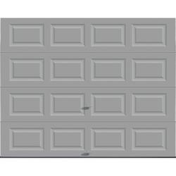 Attirant Ideal Door® Traditional Gray Insulated Garage Door At Menards®