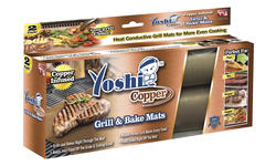 Yoshi™ Copper Grill Mat - 2 Pack