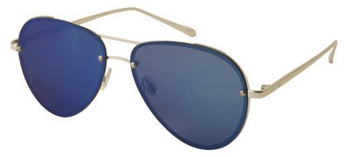 3f186d6c69 Australian Gold® Harley Polarized Silver Frame   Blue Lens Aviator  Sunglasses. Model Number  AG5005 Menards ® SKU  5757825