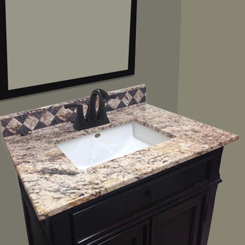 Imperial Impressions 31 W X 22 D Golden Beaches Cultured Marble Vanity Top With Undermount Bowl At Menards