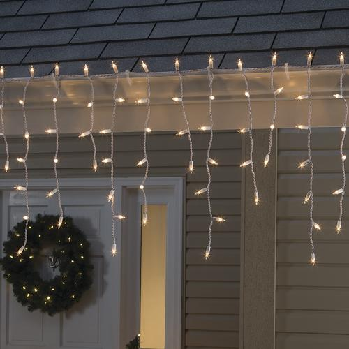 how to decorate with icicle lights.htm sylvania   stay lit   150 light heavy duty incandescent christmas  sylvania   stay lit   150 light heavy