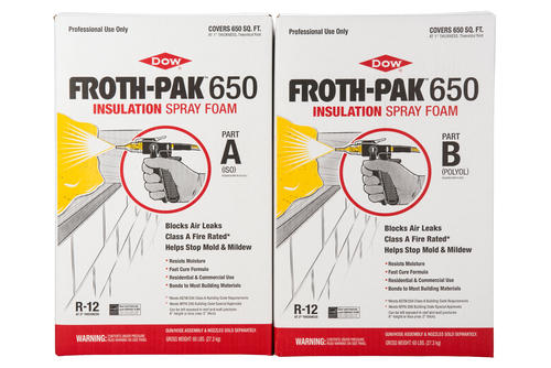Froth pak 650 fire rated foam sealant kit at menards solutioingenieria Choice Image