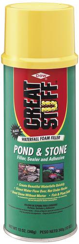 GREAT STUFF™ Pond & Stone Waterfall Foam Sealant 12 oz at