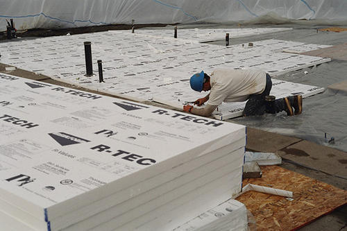 Laminated Expanded Polystyrene Foam Insulation 4' x 8' at Menards®