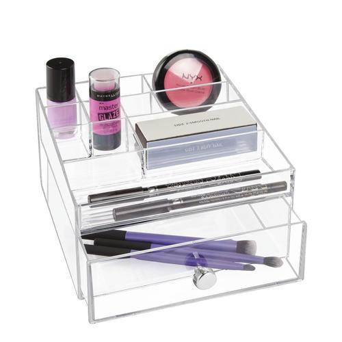 18fd39e54f8a InterDesign Clear Drawers Cosmetic Organizer at Menards®