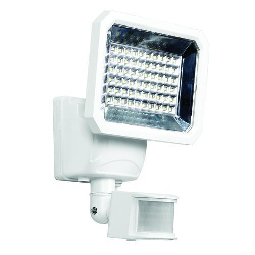 Patriot Lighting® White Integrated LED Single Head Solar