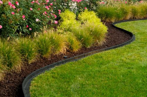 Lasting Beauty™ 4u0027 Rubber Premium Landscape Edging At Menards®