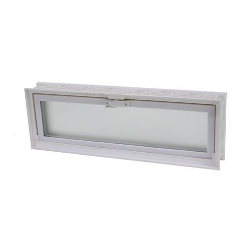 Ips 16 W X 8 H Glass Block Replacement Hopper Vent At Menards