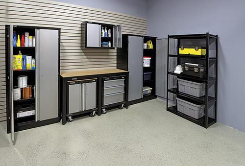 Elegant Performax® Complete Steel Storage System At Menards®