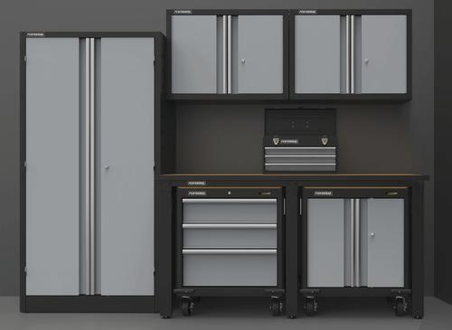 Performax® 101  W x 80  H x 24  D Silver Storage Cabinet System at Menards® & Performax® 101