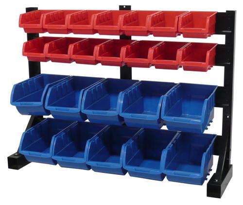 Superbe Tool Shop® 24 Bin Small Parts Storage Rack At Menards®