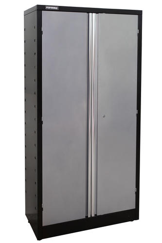 "performax® 36"" w x 72"" h x 18"" d silver tall storage cabinet at"