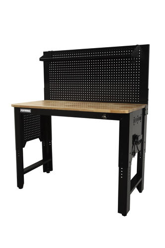 Remarkable Performax 48 X 24 Adjustable Workbench With Pegboard And Beatyapartments Chair Design Images Beatyapartmentscom