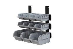 Performax® 11-Bin Small Parts Storage Rack