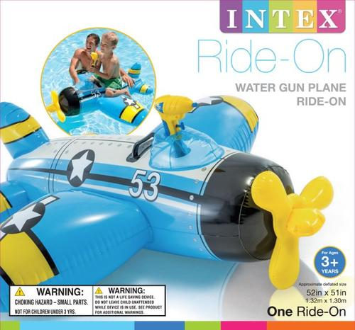 Kinderbadespaß Intex Water Gun Plane