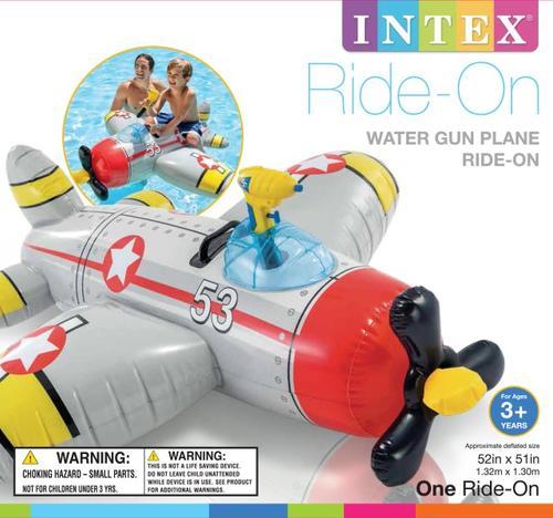 Aufblastiere Intex Water Gun Plane