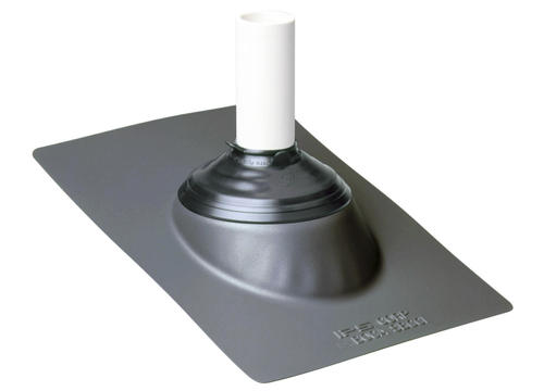 Ips Galvanized Base Weathered Gray Roof Vent Pipe Flashing At Menards 174