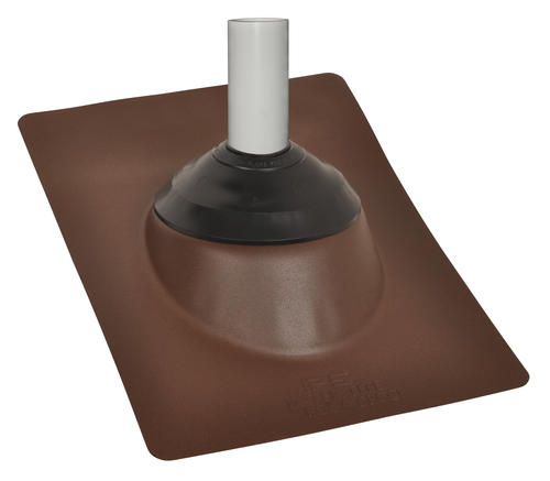 Ips Aluminum Base Brown Roof Vent Pipe Flashing At