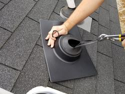 Ips Plastic Base Roof Vent Pipe Flashing At Menards 174