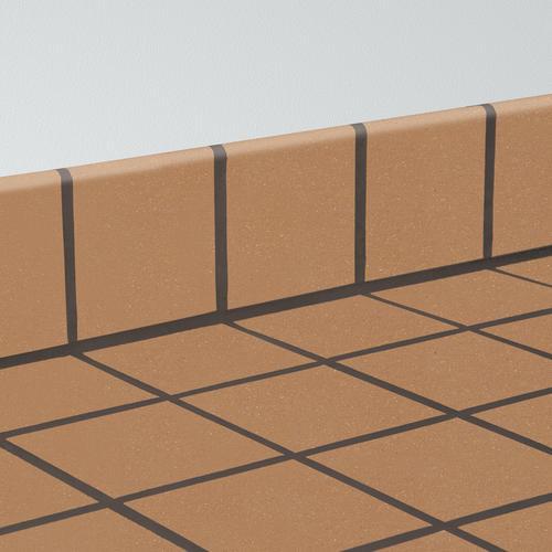 Quarrybasics 174 Quarry 6 X 6 Bullnose Tile At Menards 174