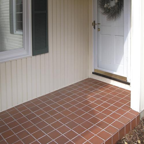 Versatile 174 6 X 6 Quarry Floor And Wall Tile At Menards 174