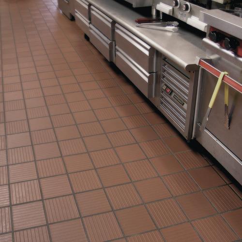Metro Tread 174 6 X 6 Quarry Floor And Wall Tile At Menards 174