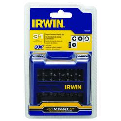 Irwin 31 Piece Screwdriver Bit Set In Pro Case