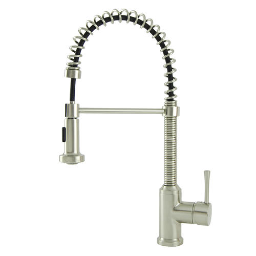 Brienza by Italia™ One-Handle Pull-Down Kitchen Faucet at ...