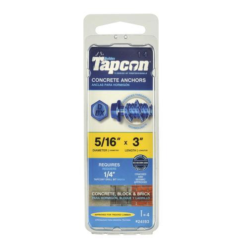 Tapcon®+ 5/16