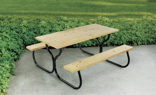 Backyard Creations Picnic Table Frame Only Kit At Menards - Picnic table bracket kit