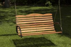 Backyard Creations Hardwood Porch Swing