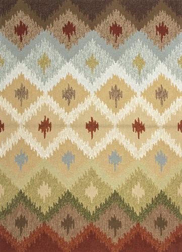 Cand Ginger Indoor Outdoor Area Rug