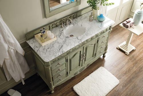 St James 60 Single Vanity Celadon At Menards
