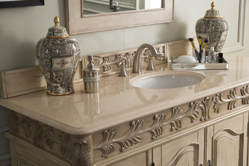St James 60 Single Vanity Empire Linen At Menards