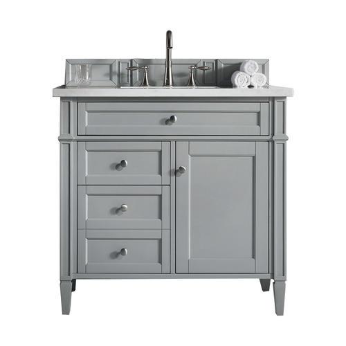 James Martin Brittany 35 W X 23 D Urban Gray Bathroom Vanity Cabinet At Menards