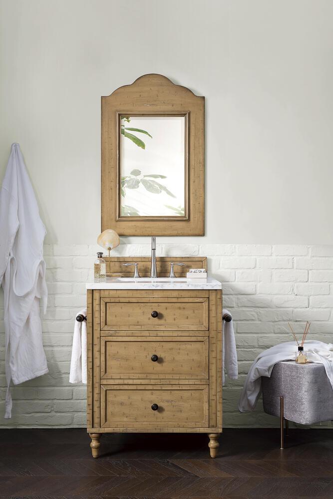 James Martin Copper Cove 26 W X 23 5 D Driftwood Patina Bathroom Vanity Cabinet At Menards