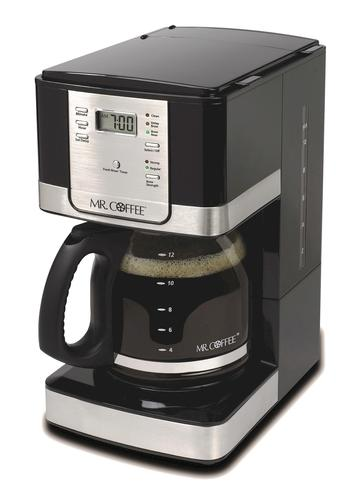 Mr Coffee Programmable Stainless Steel Coffee Maker 12 Cups At